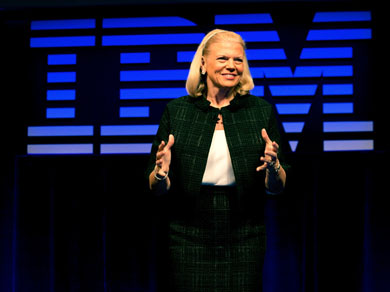 Virginia Rometty - PDG d'IBM