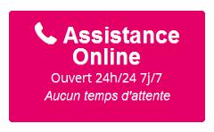Le service support de Online mis à contribution